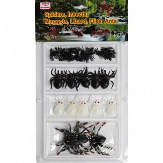 Čarodejnice - Set 33 ks pavúčiků