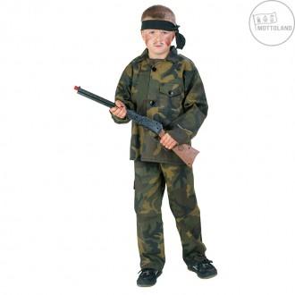 Kostýmy - Rambo - kostým