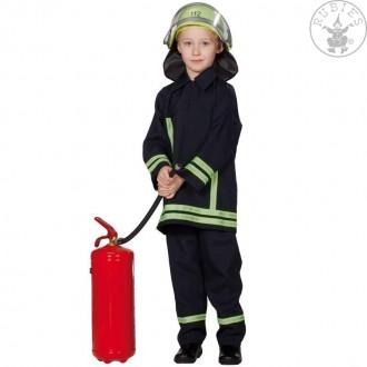 Kostýmy - Hasičský oblek s reflexnými pruhmi