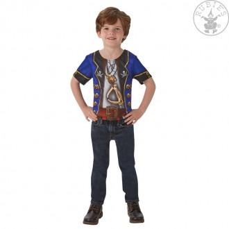 Kostýmy - Detské tričko - pirát