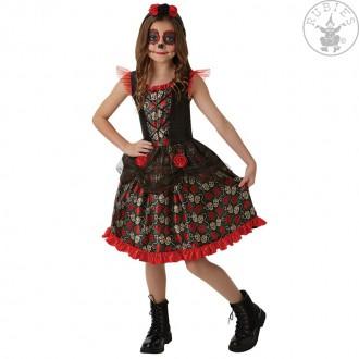 Kostýmy - Detský kostým deň mŕtvych