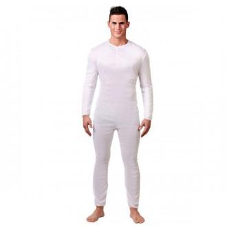 Kostýmy - Pánsky overal biely