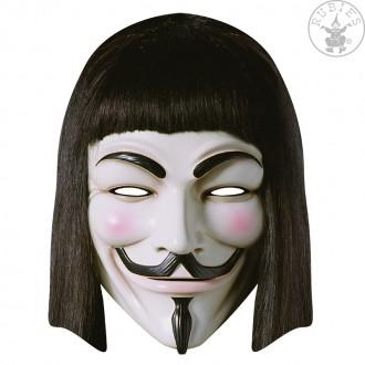 Masky - V for Vendetta - kartónová maska pre dospelých
