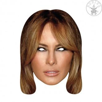 Masky - Melania Trump First Lady - kartónová maska pre dospelých