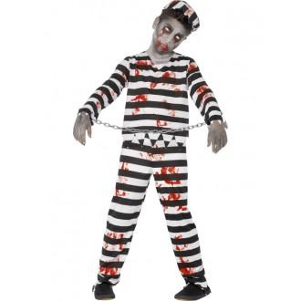 Kostýmy - Detský kostým zombie väzeň