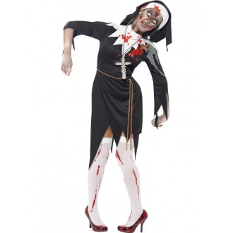Kostýmy - Kostým zombie mníška