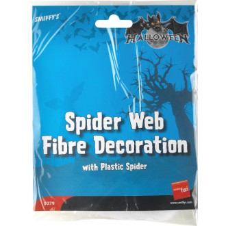 Halloween - Pavučina s pavúkom
