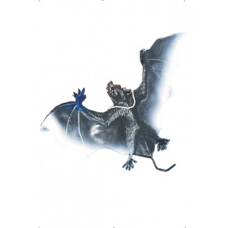 Halloween - Gumový netopier