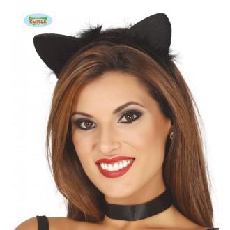 Doplnky - Mačacie uši na vlasové spone