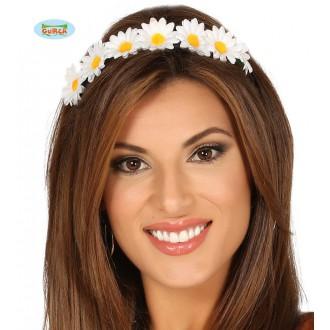 Doplnky - Margaréty na vlasy čelenke