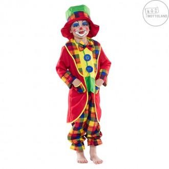 Kostýmy - Klaunský kostým s klobúkom