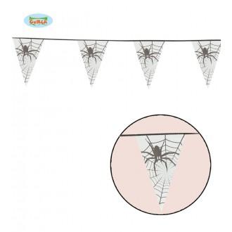 Čarodejnice - Girlanda s pavúkmi 600 cm