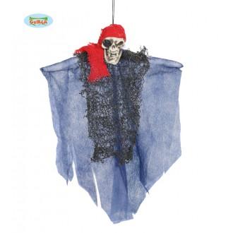 Halloween - Pirát - závesné strašidlo 30 cm