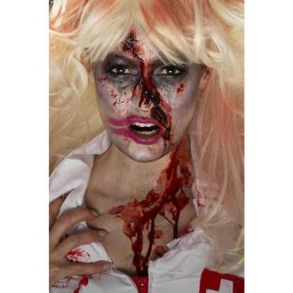 Halloween - Líčenie zombie sestrička