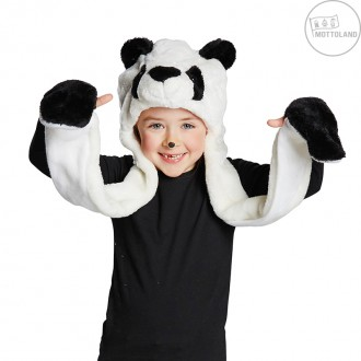 Klobúky - Panda - čiapka