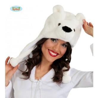 Klobúky - Čiapka ľadový medveď