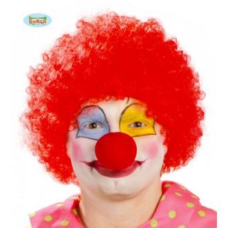 Klauni - Parochňa červený klaun