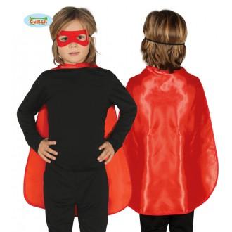 Kostýmy - Červený detský plášť 55 cm