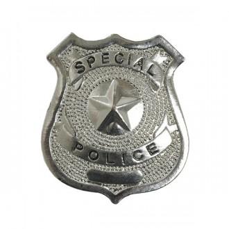 Doplnky - Policajný odznak kovový