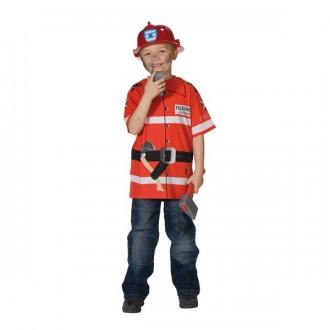 Kostýmy - Tričko hasič