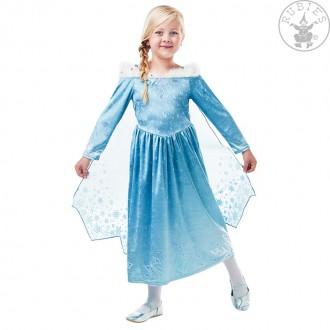 Kostýmy - Kostým Elsa deluxe - Vianoce s Olafom