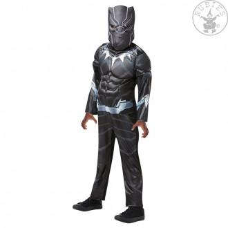 Kostýmy - Black Panther Avengers Assemble Deluxe - detský