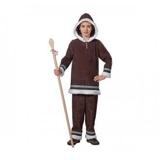 Kostýmy - Eskimák - blúza a nohavice