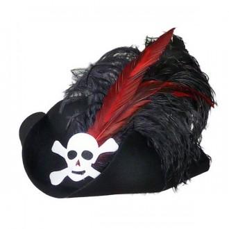 Klobúky - Pirát z pr. filcu