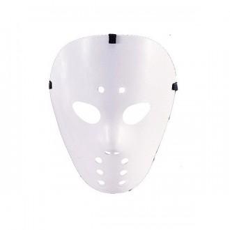 Masky - Hokejová maska biela