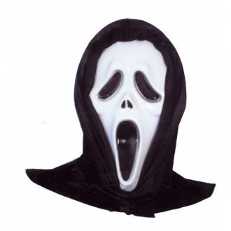 Masky - Maska vreskot so šatkou
