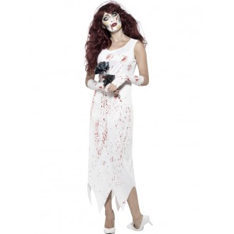 Kostýmy - Kostým halloweenská nevesta
