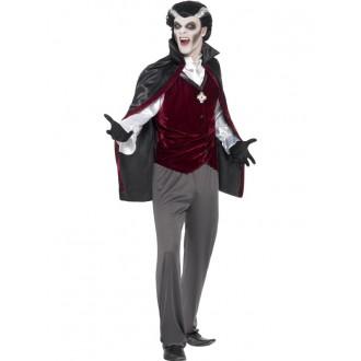 Kostýmy - Pánsky kostým Dracula