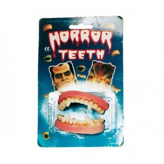 Halloween - Latexové zuby - upír