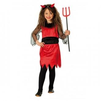 Kostýmy - Malá čertica - detský karnevalový kostým