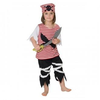 Kostýmy - Pirát pruhovaný (Pirátka)