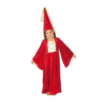 Kostýmy - Zámocká pani s klobúkom - detský karnevalový kostým