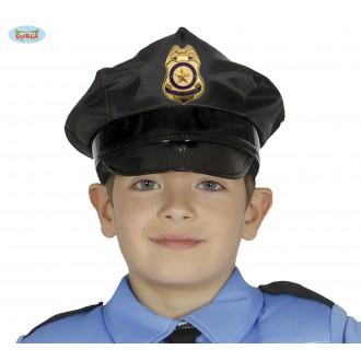 Klobúky - Policajná čiapka detská -Guirca