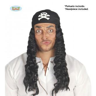 Parochne - Pirátska parochňa so šatkou