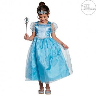 Kostýmy - Modrá princezná Elli - kostým
