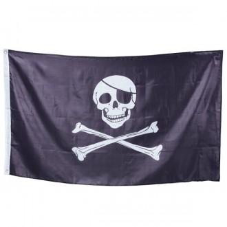 Piráti - Vlajka pirátska 90 x 150 cm