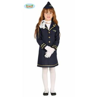 Kostýmy - Stewardka - dětský kostým