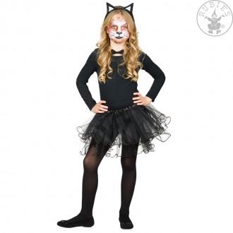 Kostýmy - Tylová sukňa čierna