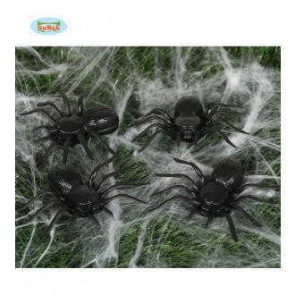Čarodejnice - Pavúky čierni - 4 kusy