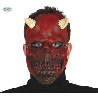 Halloween - DEMONIAC SKULL - maska latexová