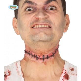 Halloween - Imitácia prišité hlavy
