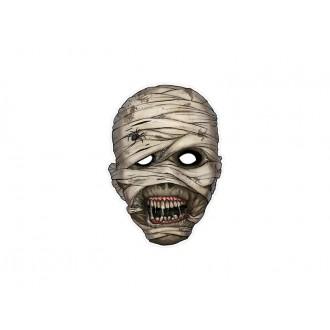 Halloween - Kartónová maska múmie