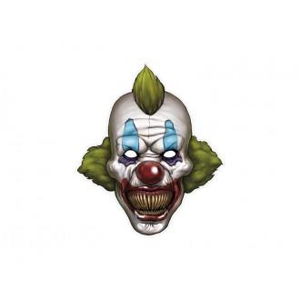 Halloween - Kartónová maska klaun