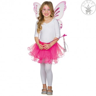 Kostýmy - Růžová tylová sukňa