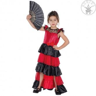 Kostýmy - Španielka - detský kostým