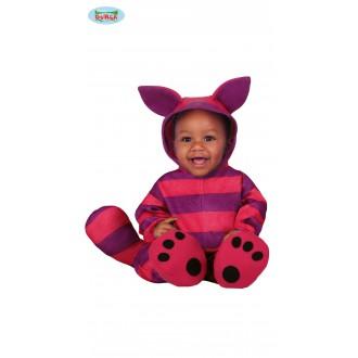 Kostýmy - Fialovo-ružová mačička